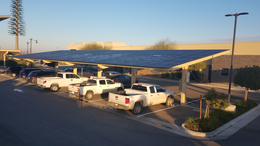 Bakersfield Office Solar Panels